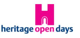 Heritage Weekend Dates