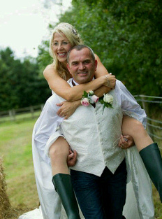 Our Favourite Muddy Wedding Pics