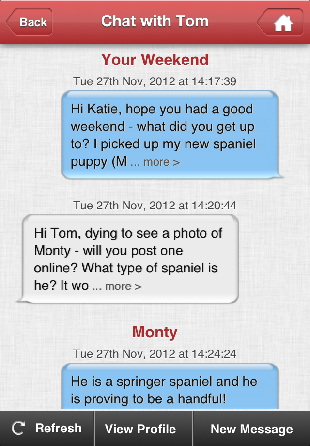 text message dating sites Hi how do i stop porn sites texting me, i have never visited a porn site in my life and they text me, im 79 years old for gods sake.