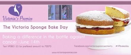 Charity: Victoria Sponge Bake Day