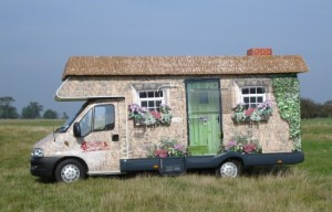 I first heard of you when a large van painted like a hedge drove past me…