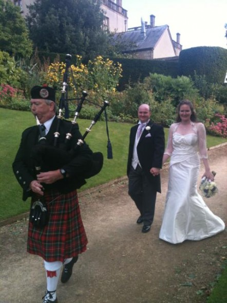 We had the most fantastic country wedding…