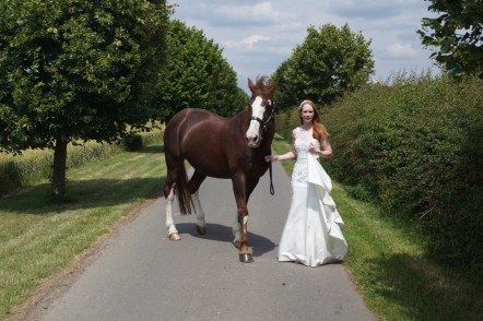 We celebrated our first wedding anniversary…