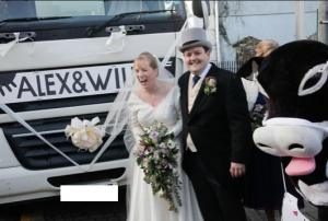 Thanks for my click & collect bride!..